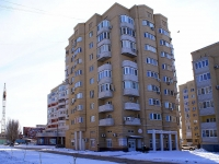 Astrakhan, Menzhinsky st, house 2. Apartment house