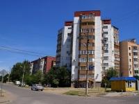 Astrakhan, Sen-Simon st, house 33 к.1. Apartment house