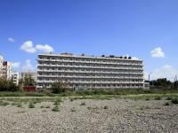 """Астрахань, гостиница (отель) """"ГАВАНЬ"""", улица Сен-Симона, дом 40В"""