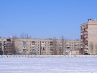 Astrakhan, Sen-Simon st, house 42. Apartment house