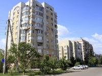 Astrakhan, Sen-Simon st, house 48 к.1. Apartment house