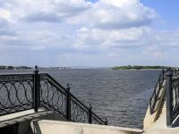Astrakhan, Sen-Simon st, embankment