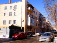 Astrakhan, Teatralny alley, house 2. Apartment house