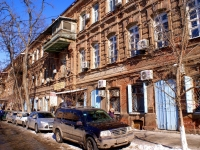 Astrakhan, Teatralny alley, house 3. Apartment house