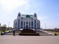 Astrakhan, theatre Астраханский государственный театр оперы и балета, Maksakovoy st, house 2