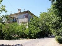 Astrakhan, st Raskolnikov, house 10. Apartment house