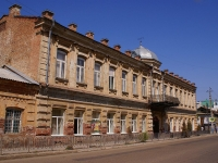 Astrakhan, school №6, Berezovskiy alley, house 6