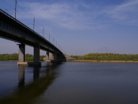 Astrakhan, bridge НовыйAnry Barbyus st, bridge Новый