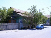Astrakhan, Polyakova st, house 1. Private house