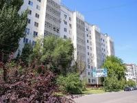 Астрахань, улица Полякова, дом 10. многоквартирный дом
