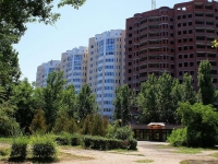 Astrakhan, Pobedy blvd, house 2/1. building under construction