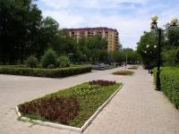Astrakhan, public garden На ТатищеваTatishchev st, public garden На Татищева