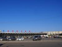 Astrakhan, railway station АСТРАХАНЬ 1, Vokzalnaya st, house 20