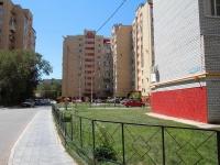 Astrakhan, Gogol (Sovetsky) st, house 3 к.1. Apartment house