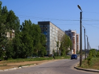 Astrakhan, Boris Alekseev st, house 61. Apartment house