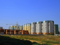 Astrakhan, Kulikov st, building under construction