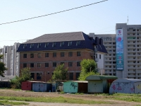 Astrakhan, Zelenaya (Kirovsky) st, house 51А. building under construction