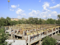 Astrakhan, Dzhanibekov st, building under construction