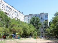 Астрахань, улица Курская, дом 80. многоквартирный дом