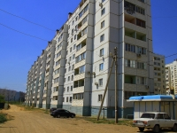 Astrakhan, Zelenginskaya 2-ya st, house 1. Apartment house