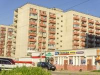 Kolchugino, Dobrovolsky st, 房屋 17. 带商铺楼房
