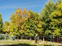 Petushki, Sovetskaya square, children's playground