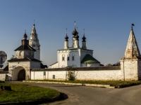 Суздаль, монастырь Александровский улица Гастева, монастырь Александровский
