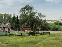 Суздаль, улица Крупской. детская площадка
