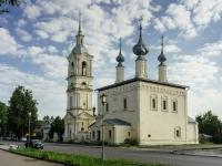 Suzdal, church Смоленской иконы Божией Матери, Lenin st, house 148А