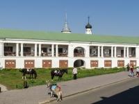 Suzdal, shopping center Торговые Ряды, Lenin st, house 63А