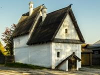 Суздаль, памятник архитектуры Каменный посадский дом 17 века, улица Ленина, дом 148
