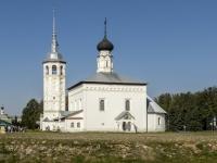 Суздаль, церковь Воскресенская, улица Ленина, дом 63Б