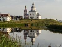 Суздаль, улица Пушкарская, дом 50. церковь Ильинская
