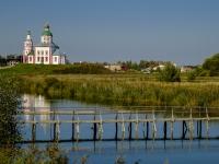 Суздаль, улица Пушкарская. мост через реку Каменку