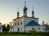 Суздаль, улица Покровская, дом 46. церковь Петропавловская