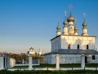 Суздаль, церковь Петропавловская, улица Покровская, дом 46