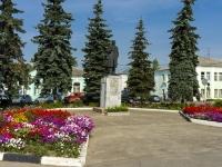 Юрьев-Польский, улица Владимирская. памятник В.И. Ленину
