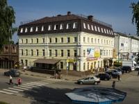 """площадь Советская, дом 1. гостиница (отель) """"Юрьевская"""""""