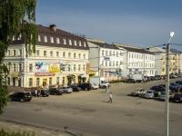 Yuryev-Polsky, square Sovetskaya. square