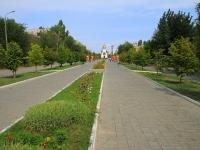 улица Калининградская. мемориал Воинам-сибирякам, погибшим в 1942-1943 гг в Сталинградской битве