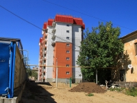 Волгоград, улица Петроградская, дом 7А. строящееся здание