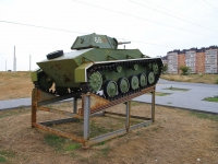 Volgograd, st Marshal Vasilevsky. monument