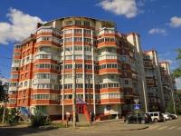 Волгоград, улица Канунникова, дом 9. многоквартирный дом