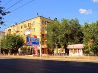 Волгоград, улица Канунникова, дом 1. многоквартирный дом