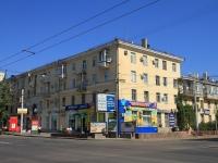 Волгоград, улица Комсомольская, дом 14. многоквартирный дом