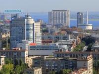 Волгоград, улица Комсомольская, дом 6. многоквартирный дом
