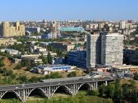 Волгоград, улица Краснознаменская, дом 7. многоквартирный дом