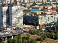 Волгоград, улица Краснознаменская, дом 8. многоквартирный дом