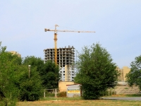 Volgograd, st Balonin, house 1. building under construction