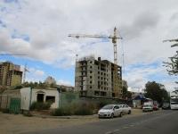 Волгоград, улица Михаила Балонина. строящееся здание